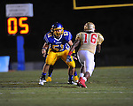 Oxford High's Luke Leary (51) vs. Lafayette High at Bobby Holcomb Field in Oxford, Miss. on Thursday, August 30, 2012. Oxford High won 19-0.