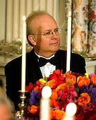 Washington, D.C. - February 6, 2006 -- Karl Rove, Assistant to the President, Deputy Chief of Staff and Senior Advisor listens to the remarks as United States President George W. Bush toasts Arthur Mitchell, Kennedy Center Former Honoree, Founder and Artistic Director, Dance Theatre of Harlem in Washington, D.C. on February 6, 2006. .Credit: Ron Sachs / CNP