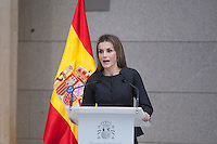 Velazquez Visual Arts Award ceremony, Queen Letizia