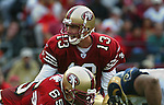 Tim Rattay once was the 49er quarterback in San Francisco California.
