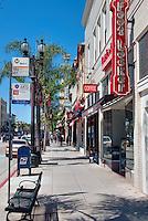 Pasadena, CA, Old Town, Colarado, Boulevard, Stores, Shopping, Restaurants