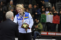 SHORT TRACK: TORINO: 15-01-2017, Palavela, ISU European Short Track Speed Skating Championships, Podium Overall Ladies, Arianna Fontana (ITA), ©photo Martin de Jong