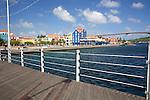 View Of Otrobanda From Floating Foot Bridge