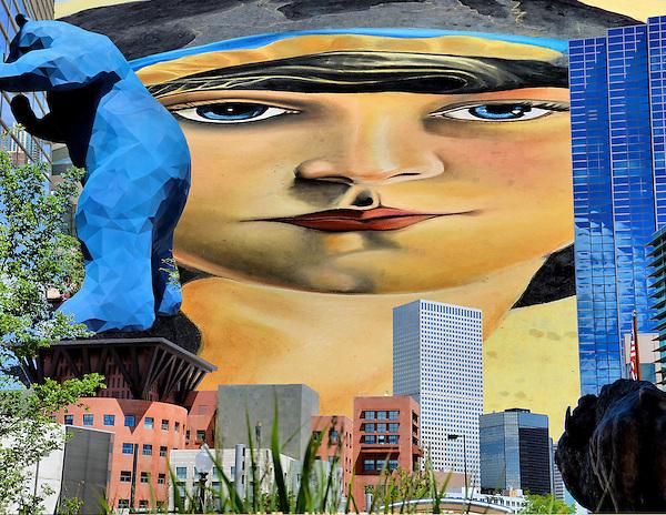 Denver colorado composite of three photos encircle photos for Craft show denver convention center