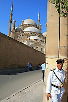 The Mosque of Muhammad Ali Pasha or Alabaster Mosque, Cairo, Egypt.