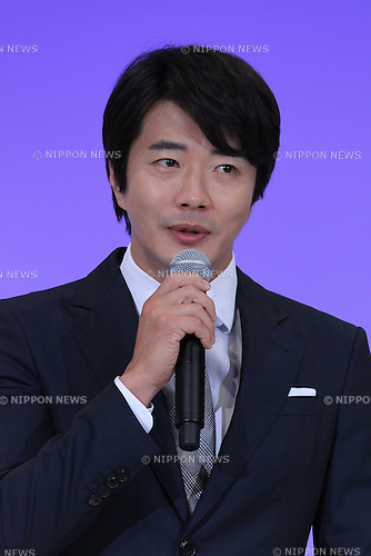 """Kwon Sang-Woo, July 19, 2015 : South Korean actor Kwon Sang Woo attends the """"Bridge to the future"""" event to commemorate the 50th anniversary of the normalization of post war bilateral relations between South Korea and Japan in Tokyo on July 19, 2015. (Photo by Pasya/AFLO)"""