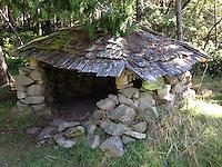 Woodshed, Wallace Island, Gulf Islands, British Columbia, Canada
