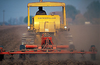 Planting cotton. California.