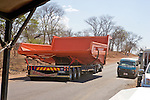 Very Large Dump Truck Bed On Trailer