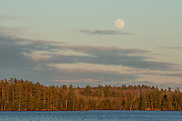 &quot;Moonrise Over Pipestone Bay&quot;<br />