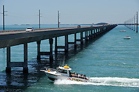 Seven Mile Bridge, Florida Keys.Die Seven Mile Bruecke verbindet Marathon mit Little Duck Key.The Seven Mile Bridge links the city of Marathon in the Middle Keys of Florida to Little Duck Key in the Lower Keys of Florida..Florida 2009..Foto © Stefan Falke.