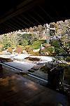 Photo shows the Japanese garden inide the grounds of Jomyoji temple in Kamakura, Japan on 24 Jan. 2012. Photographer: Robert Gilhooly