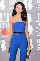 Michelle Keegan at the 2017 Brit Awards at the O2 Arena in London, UK. <br /> 22 February  2017<br /> Picture: Steve Vas/Featureflash/SilverHub 0208 004 5359 sales@silverhubmedia.com