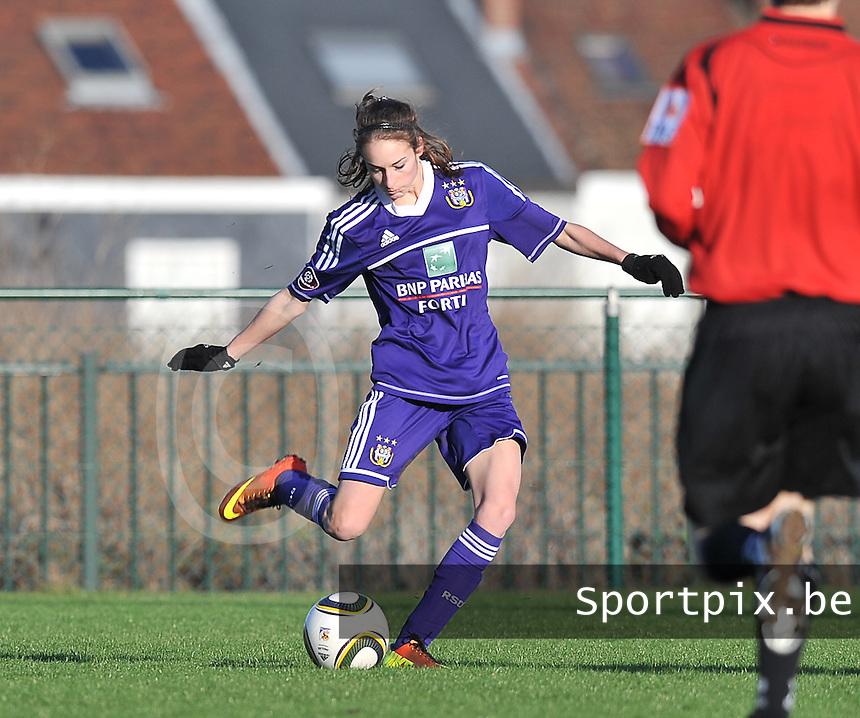 RSC Anderlecht Dames : Tessa Wullaert.foto DAVID CATRY / Vrouwenteam.be