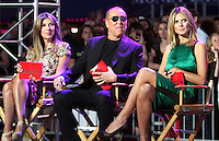 June 15 , 2012 Nina Garcia, Michael Kors and Heidi Klum at Project Runway's 10th Anniversary Kick-Off at Times Square in New York City. © RW/MediaPunch Inc.