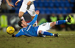 St Johnstone v Inverness Caley Thistle&hellip;09.03.16  SPFL McDiarmid Park, Perth<br />Danny Swanson appeals after being brought down by Gary Warren<br />Picture by Graeme Hart.<br />Copyright Perthshire Picture Agency<br />Tel: 01738 623350  Mobile: 07990 594431