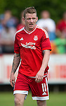 Aberdeen v St Johnstone...28.06.15  Glebe Park, Brechin..Pre-Season Friendly<br /> Johnny Hayes<br /> Picture by Graeme Hart.<br /> Copyright Perthshire Picture Agency<br /> Tel: 01738 623350  Mobile: 07990 594431