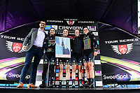 Picture by Alex Broadway/SWpix.com - 18/05/2017 - Cycling - Tour Series Round 5, Croydon - Matrix Fitness Grand Prix - Drops Cycling win the Team competition.