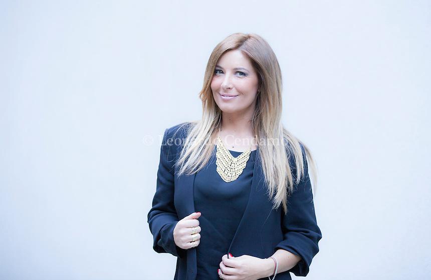 Selvaggia Lucarelli (Civitavecchia, 30 luglio 1974) è un'opinionista, conduttrice televisiva, blogger, conduttrice radiofonica e scrittrice italiana. Milano, 16 aprile 2014. © Leonardo Cendamo