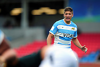 Domingo Miotti of Argentina U20 looks on. World Rugby U20 Championship 3th Place Play-Off between Argentina U20 and South Africa U20 on June 25, 2016 at the AJ Bell Stadium in Manchester, England. Photo by: Patrick Khachfe / Onside Images