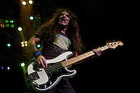 Iron Maiden performing at HiSense Arena, Melbourne, 23 February 2011