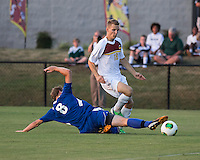 Winthrop University Eagles vs the Brevard College Tornados at Eagle's Field in Rock Hill, SC.  The Eagles beat the Tornados 6-0.  Garrett Stone (8), Max Hasenstab (18)