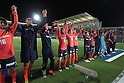 Omiya Ardija team group,.APRIL 21, 2012 - Football / Soccer :.Omiya Ardija players acknowledge fans after the 2012 J.League Division 1 match between Omiya Ardija 2-0 Urawa Red Diamonds at NACK5 Stadium Omiya in Saitama, Japan. (Photo by Hiroyuki Sato/AFLO)