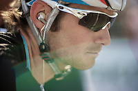 Giro d'Italia stage 13.Savano-Cervere: 121km..Fra?nk Schlecks tear of sweat