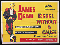 BNPS.co.uk (01202 558833)<br /> Pic: Burstow&amp;Hewett/BNPS<br /> <br /> Rebel Without a Cause film poster starring James Dean.<br /> <br /> A late film buff's collection of 400 vintage movie posters has emerged for auction and is tipped to sell for &pound;15,000.<br /> <br /> The collection was amassed by a man who worked for several decades at the Marble Arch Odeon cinema in London which in its heyday was one of the capital's flagship cinemas.<br /> <br /> He sadly died a couple of years ago but bestowed the posters - which once were on display in the cinema - to a life-long friend who has decided to put them on the market.<br /> <br /> Many of the posters are from classic film franchises including Star Wars and James Bond as well as iconic Disney films such as Snow White and the Seven Dwarfs and Cinderella.