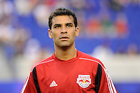 Rafael Marquez (4) of the New York Red Bulls. The New York Red Bulls defeated the San Jose Earthquakes 2-0 during a Major League Soccer (MLS) match at Red Bull Arena in Harrison, NJ, on August 28, 2010.
