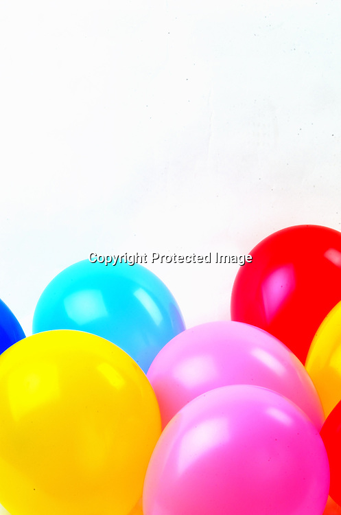 Stock photo of colorful balloons