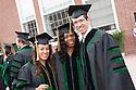 Anna Meyendorff, Stell Patadji, Christopher Duncan. Commencement class of 2013.