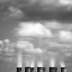 Eggborough Power Station cooling towers, East Yorkshire