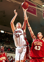 STANFORD, CA - FEBRUARY 5: Cori Enghusen of the Stanford Cardinal during Stanford's 69-56 win over the USC Trojans on February 5, 2000 at Maples Pavilion in Stanford, California.