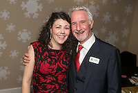 Finola Brady of Finola Brady Architectural Services with Parry Leggett of George Square Financial Management