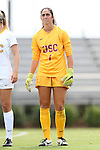 06 September 2015: USC's Sammy Jo Prudhomm. The University of North Carolina Tar Heels played the University of Southern California Trojans at Koskinen Stadium in Durham, NC in a 2015 NCAA Division I Women's Soccer match. UNC won the game 2-1.