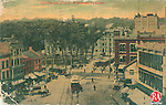 Waterbury<br /> 1911<br /> <br /> Postcard with the caption &quot;Exchange Place, Waterbury, Conn.&quot;