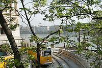 "Central Europe, Hungary, Budapest 2007/04.On ""rakpart Budai""."