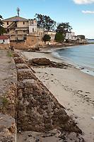 Stone Town, Zanzibar, Tanzania.  Shangani Point at Dusk.