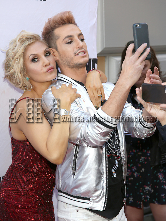 Orfeh and Frankie Grande attend the Broadway Opening Night performance of 'Groundhog Day' at the August Wilson Theatre on April 17, 2017 in New York City