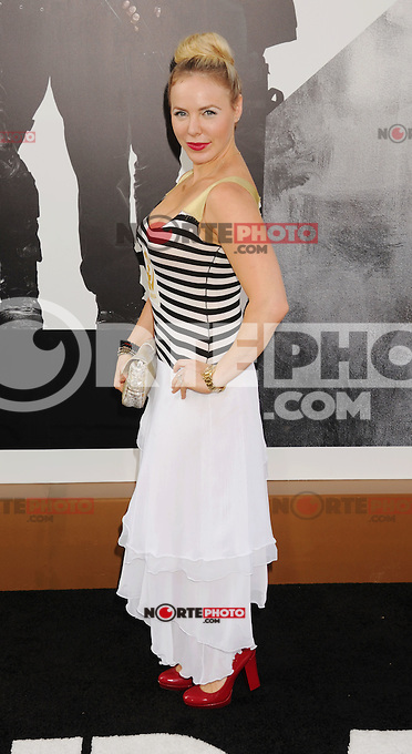 HOLLYWOOD, CA - AUGUST 15: Shirly Brener arrives at the 'The Expendables 2' - Los Angeles Premiere at Grauman's Chinese Theatre on August 15, 2012 in Hollywood, California. /NortePhoto.com<br />