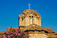 Byzantine Greek Orthodox church in the Ancient Agora of Athens