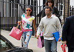 IMAGES INTERNATIONAL / JAMES BOARDMAN   01622755887.Katie Price aka  Jordan leaves her solicitors 'Fiona Shackleton's' offices in Central London May 26, 2009.
