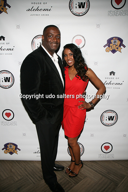 DJ  Jon Quick and Honoree DR. MEENA SINGH at DJ Jon Quick's 5th Annual Beauty and the Beat: Heroines of Excellence Awards Honoring AMBRE ANDERSON, DR. MEENA SINGH,<br /> JESENIA COLLAZO, SHANELLE GABRIEL, <br /> KRYSTAL GARNER, RICHELLE CAREY,<br /> DANA WHITFIELD, SHAWN OUTLER,<br /> TAMEKIA FLOWERS Held at Suite 36, NY