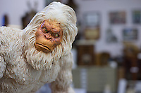 Legendary Sasquatch replica at the International Cryptozoology museum, Portland Maine, USA