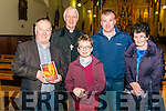 Aidan O'Carroll 'Songs of the Love and Praise' The Sacred Choral with Kerry Chamber Choir, St Marys Cathedral Choir and Kerry Chamber Orchestra led by Kenneth Rice in the Killarney Friary Church last Sunday evening. Pictured l-r Paul Sherry (Killarney), bishop Ray Browne, William Sherry (Killarney), Kieran Cunnihan (Killarney) and Anna Aherne (Killarney).