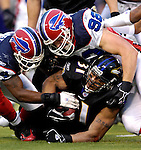31 December 2006: Baltimore Ravens running back Jamal Lewis (31) in action during a game against the Buffalo Bills at M&amp;T Bank Stadium in Baltimore, Maryland. The Ravens defeated the Bills 19-7. Mandatory Photo Credit: Ed Wolfstein Photo.<br />
