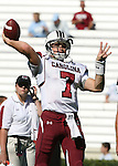 13 October 2007: South Carolina's Chris Smelley. The University of South Carolina Gamecocks defeated the University of North Carolina Tar Heels 21-15 at Kenan Stadium in Chapel Hill, North Carolina in an NCAA College Football Division I game.