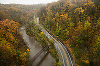 As of this morning Lincoln Drive remained closed even though the Wissahickon Creek did not flood.