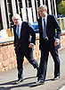 Conservative Party Conference <br /> Manchester, Great Britain <br /> Day 3<br /> 6th October 2015 <br /> <br /> Boris Johnson speech <br /> with Zac Goldsmith MP <br /> walking into Manchester Central ahead of their speeches <br /> <br /> <br /> Photograph by Elliott Franks <br /> Image licensed to Elliott Franks Photography Services